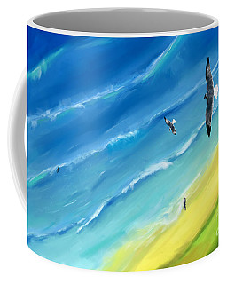 Bird's-eye Above Sea Coffee Mug