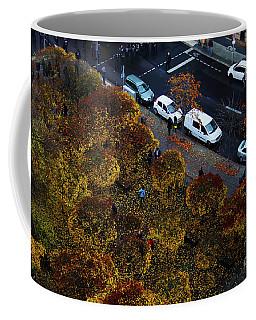 Bird's Eye Of A Berlin Street Coffee Mug
