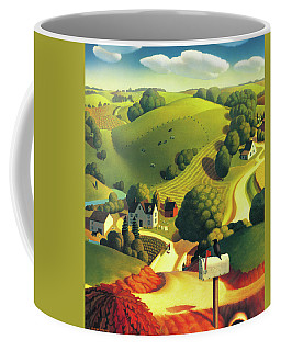 Birds Eye View Coffee Mug