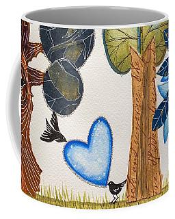 Birds In Love Coffee Mug