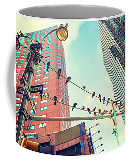 Birds In New York City Coffee Mug