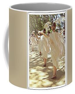 Birds Of A Feather Follies Coffee Mug by Lilliana Mendez