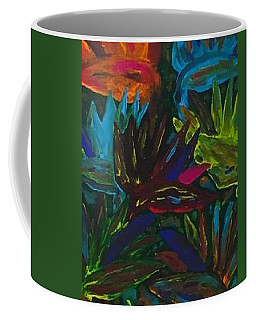 Coffee Mug featuring the painting Birds Of Paradise II by Jonathon Hansen