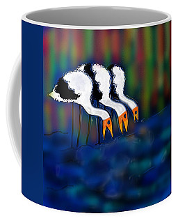 Birds Of Same Feather Coffee Mug by Latha Gokuldas Panicker
