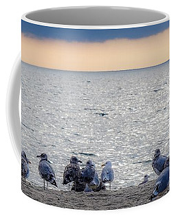 Birds On A Beach Coffee Mug