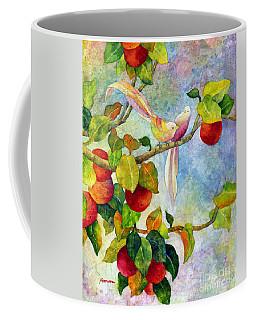 Birds On Apple Tree Coffee Mug