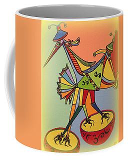 Birds On A Space Mission Coffee Mug