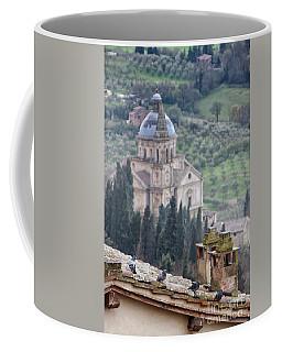 Birds Overlooking The Countryside Coffee Mug