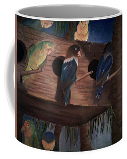 Birds Resting Coffee Mug