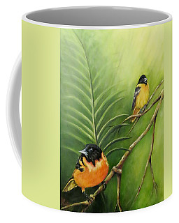 On The Lookout, Birds  Coffee Mug