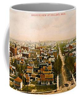Birdseye View Of Holland Michigan Coffee Mug