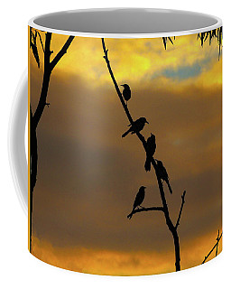 Coffee Mug featuring the photograph Birdstop by Mark Blauhoefer