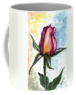 Coffee Mug featuring the painting Birth Of A Life by Harsh Malik