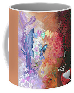 Birth Of A Monarch Coffee Mug