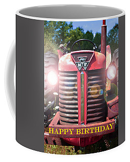Birthday Card -- Big M-f Coffee Mug