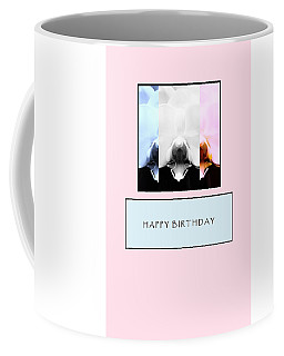 Birthday Card Coffee Mug by Mary Ellen Frazee