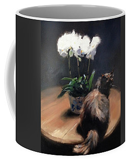 Birthday Orchids Coffee Mug
