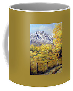 Bishop In The Fall Coffee Mug