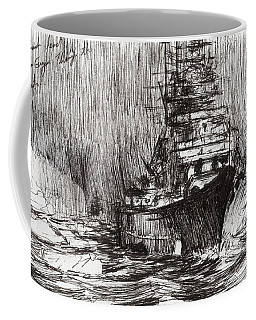 Bismarck Off Greenland Coffee Mug