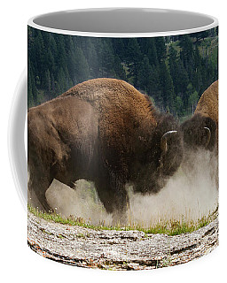 Bison Duel Coffee Mug