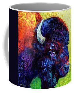 Bison Head Color Study IIi Coffee Mug
