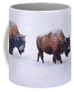 Bison March Impressions Coffee Mug