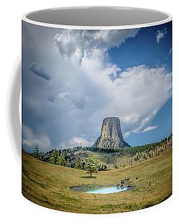 Bison Pond Coffee Mug