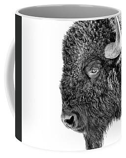 Bison Portrait Coffee Mug