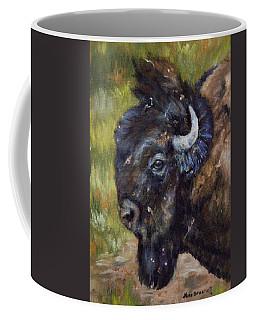 Bison Study 5 Coffee Mug