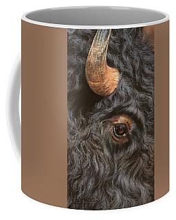 Bison Up Close Coffee Mug