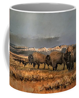 Bisons Of The Front Range Coffee Mug