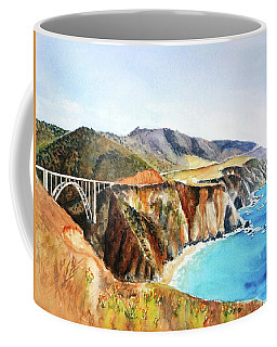 Bixby Bridge Big Sur Coast California Coffee Mug