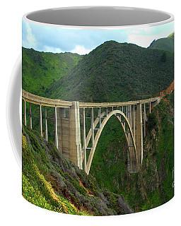 Bixby Bridge In Big Sur Coffee Mug