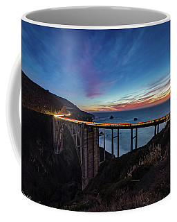 Bixby Bridge Sunset Coffee Mug