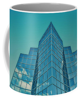 Blue Buliding Coffee Mug