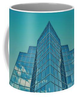 Blue Buliding Coffee Mug by Jerry Golab