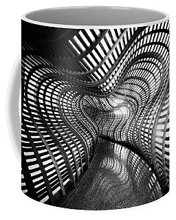 Black Abstract Hall Coffee Mug