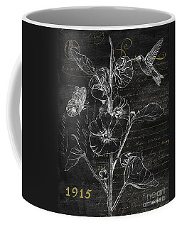 Black And Gold Hummingbirds 1 Coffee Mug