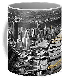 Black And Gold Pittsburgh  Coffee Mug