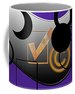 Black And Purple Coffee Mug