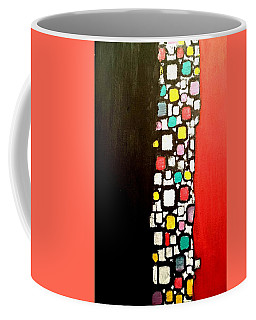 Black And Red Coffee Mug