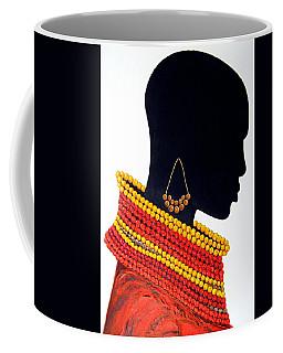 Black And Red - Original Artwork Coffee Mug