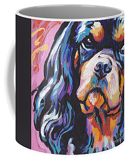 Black And Tan Cav Coffee Mug