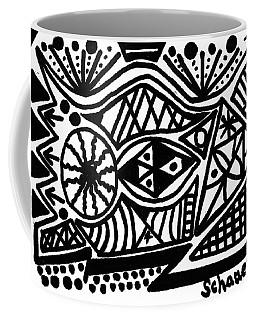 Black And White 4 Coffee Mug