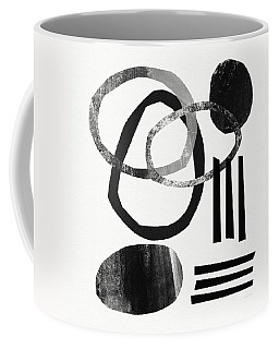 Black And White- Abstract Art Coffee Mug