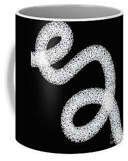 Black And White Abstract Design Coffee Mug