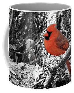 Black And White And Red Coffee Mug