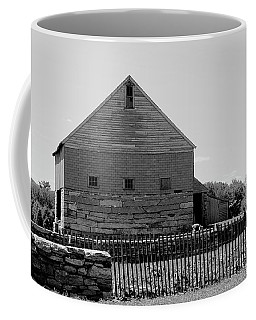 Black And White Barn Coffee Mug