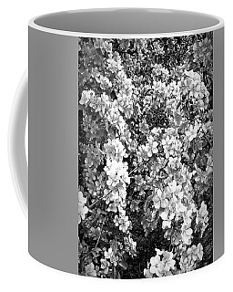 Coffee Mug featuring the photograph Black And White Beautiful Blossoms by Aimee L Maher Photography and Art Visit ALMGallerydotcom