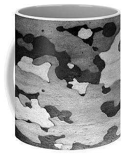 Black And White Birch Coffee Mug
